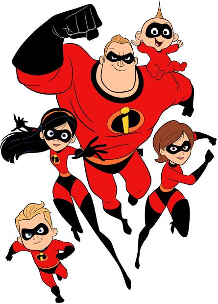 Incredibles clip art galore. Disney clipart family