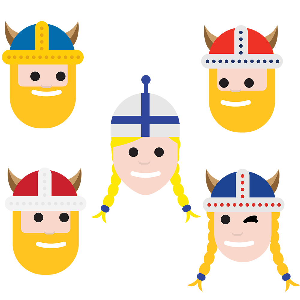 Nordic family thisisfinland download. Excited clipart happy feeling