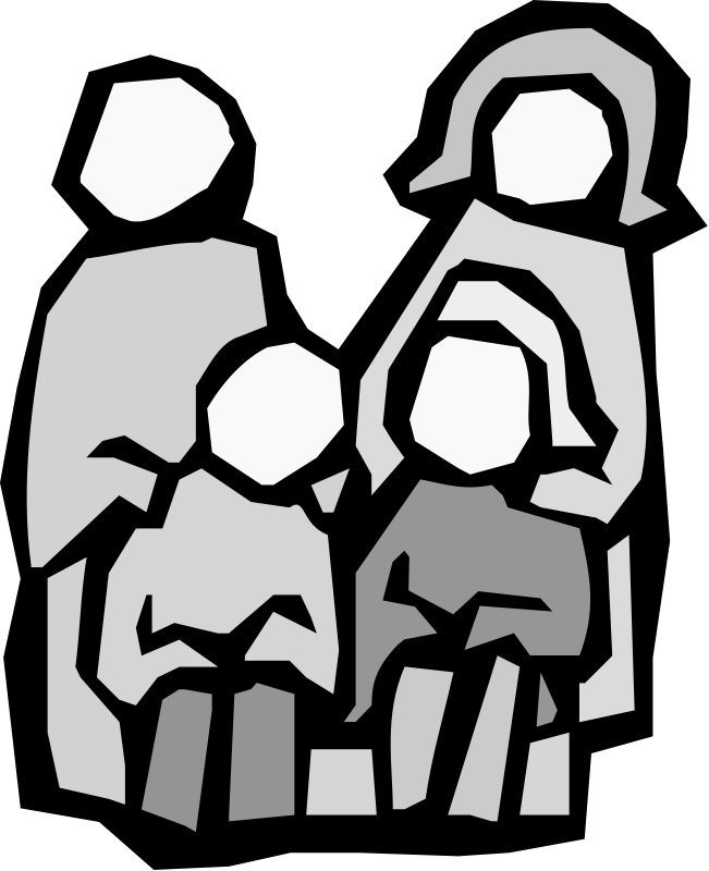 Clipart family transparent background. Blog the ancestor hunt