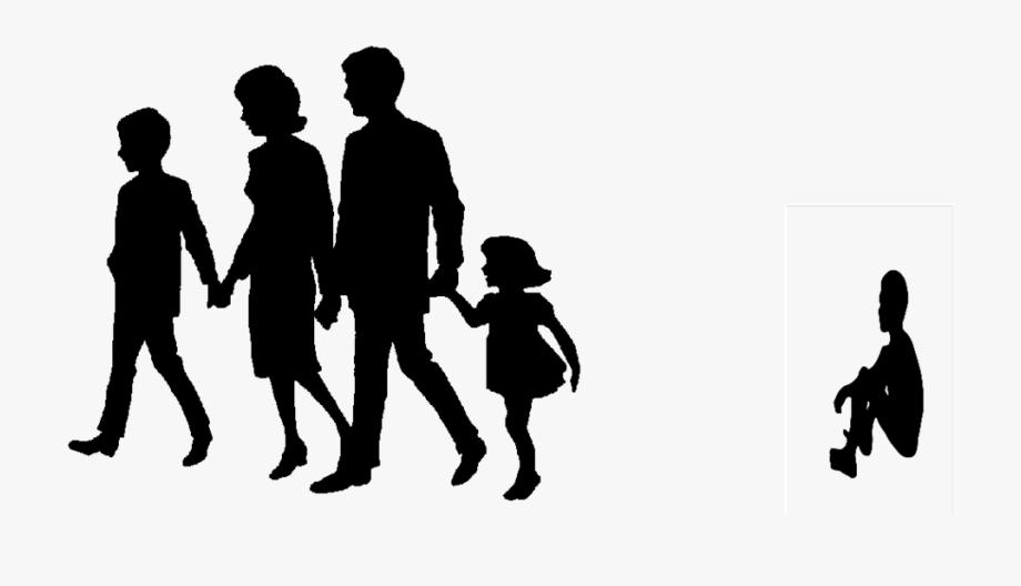 Clipart family transparent background. Black reunion clip art