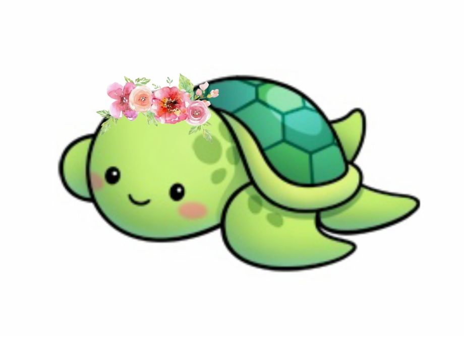 Girl cute sea drawings. Clipart turtle family