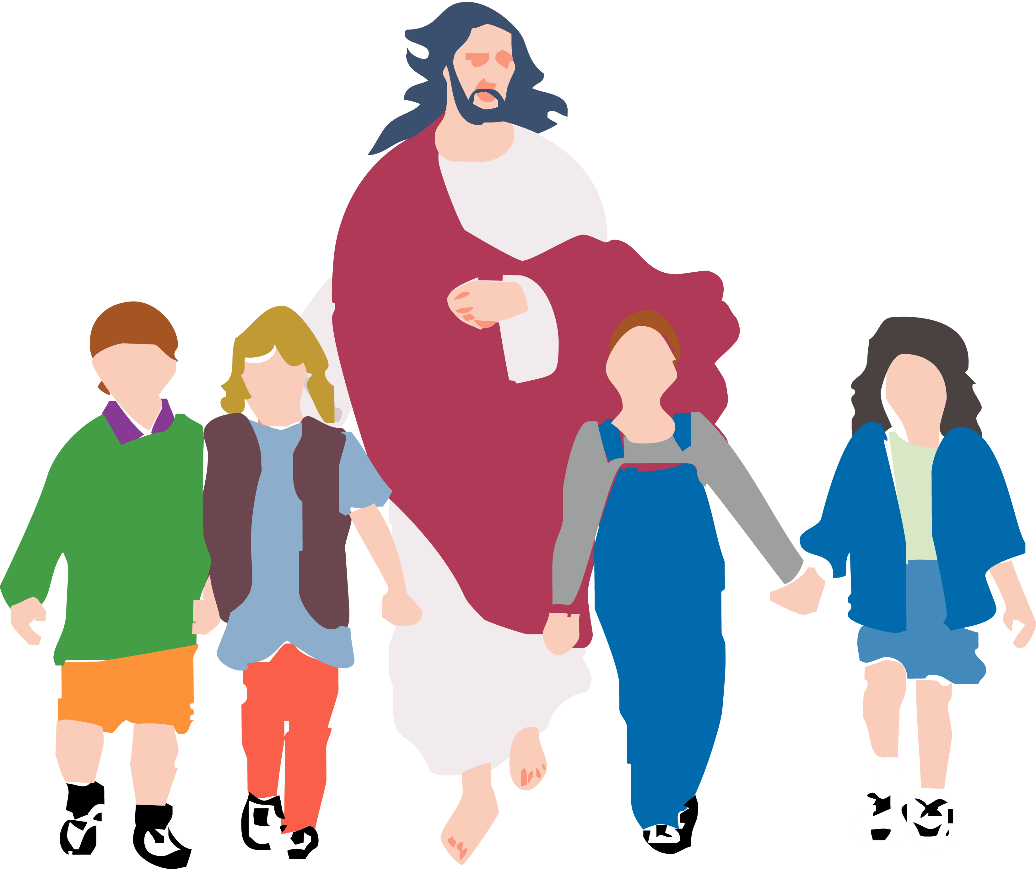 Clipart walking family.  collection of with