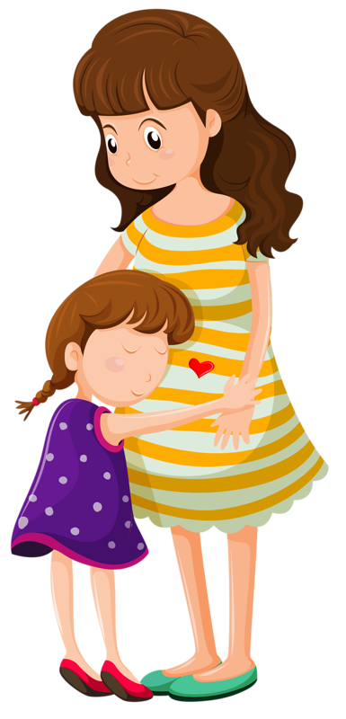 png pinterest clip. Clipart reading mom baby