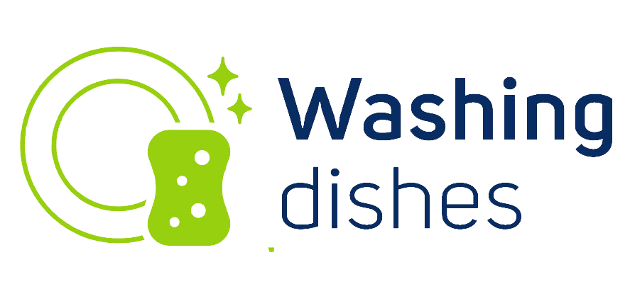 Dishes share experiences logo. Hands clipart washing dish
