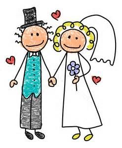 Clipart wedding family. Free stick people clip