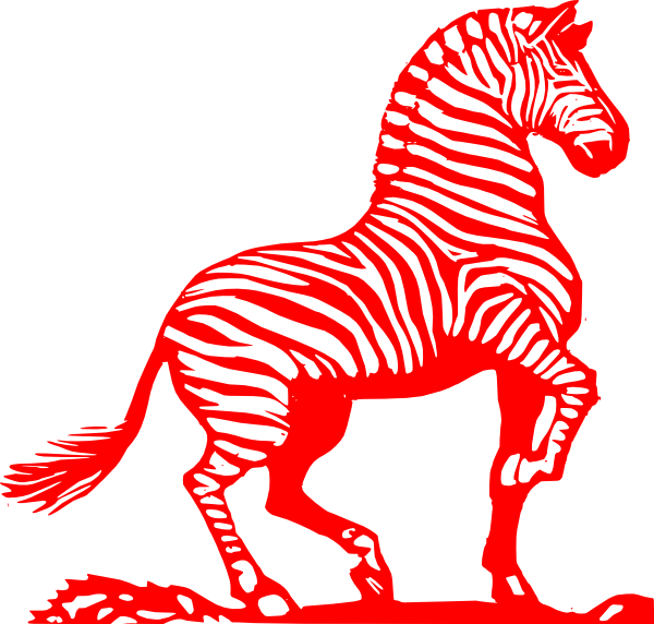 Clip art at clker. Clipart zebra zebra outline