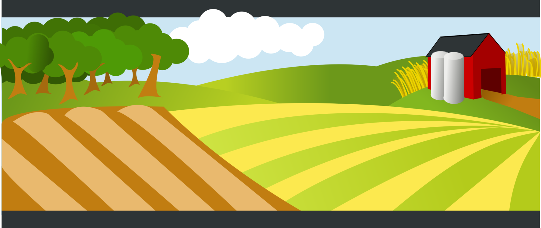 Grass angle text png. Farm clipart agricultural land