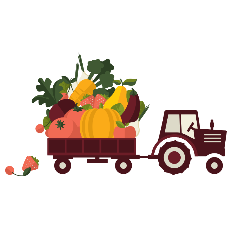 Farming clipart organic farming. Agriculture food tractor