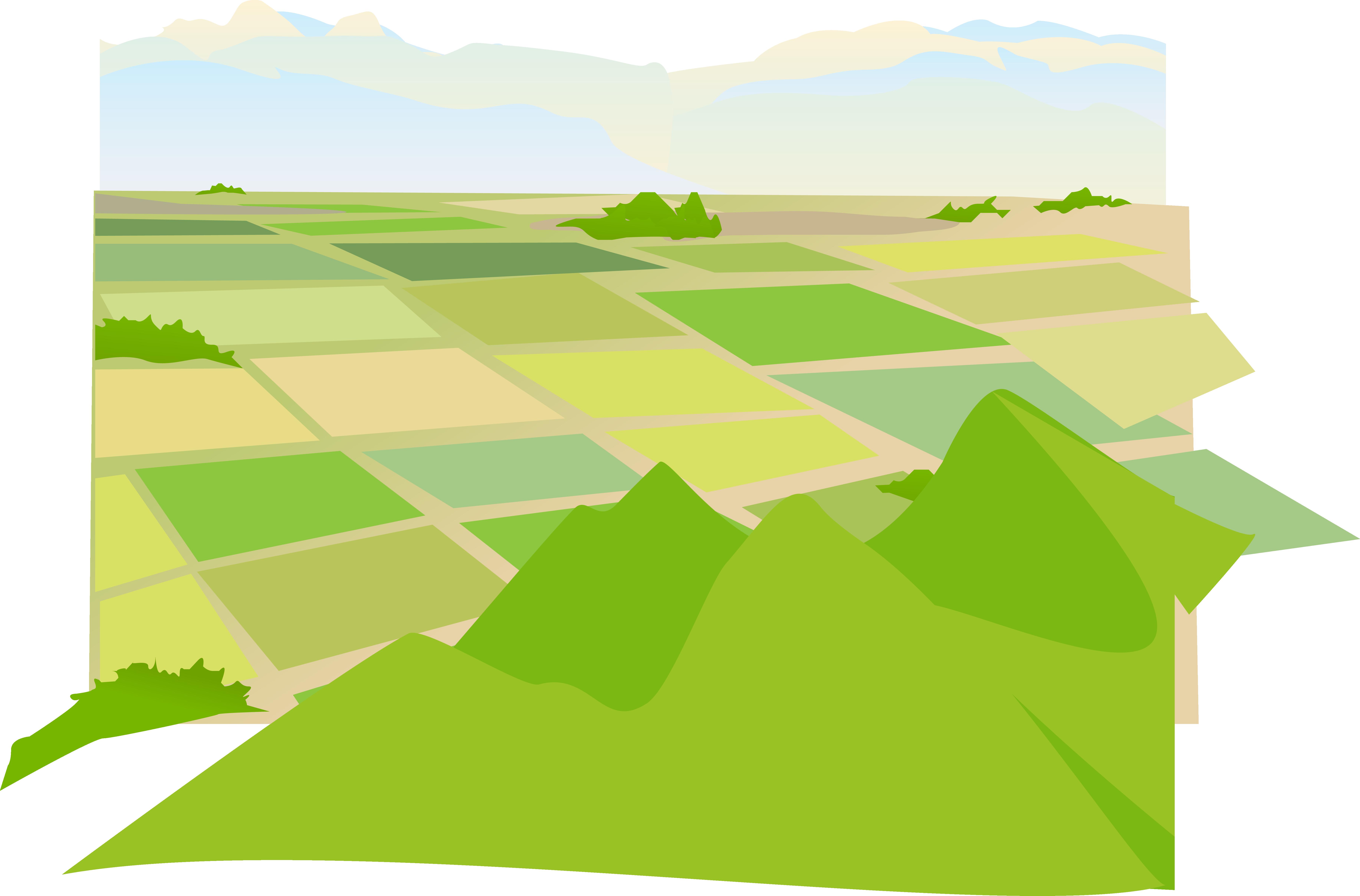 Euclidean vector download farm. Farming clipart arable land