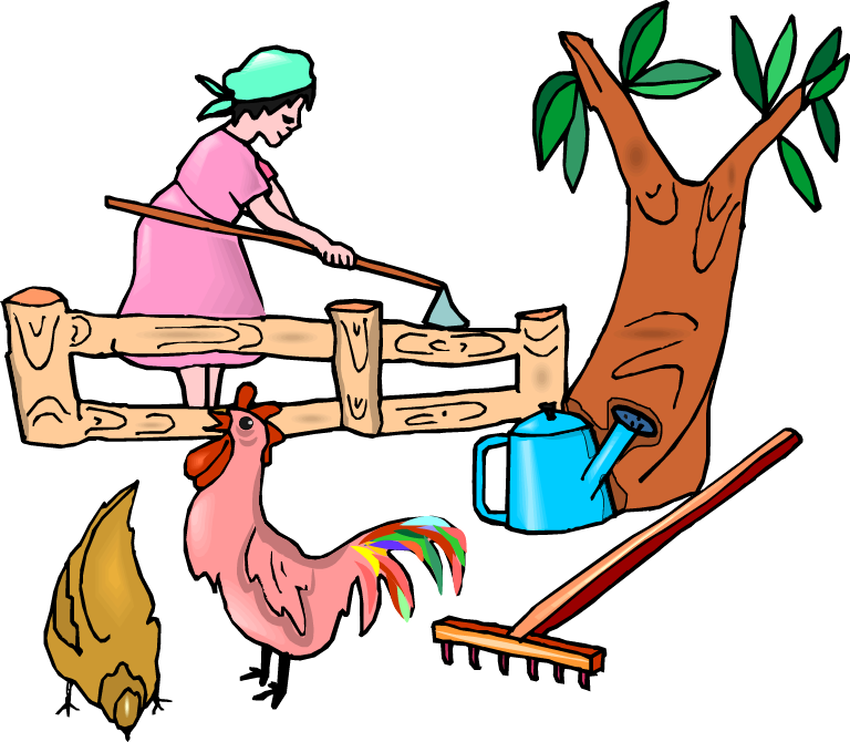 Chicken farmer agriculture clip. Land clipart piece land