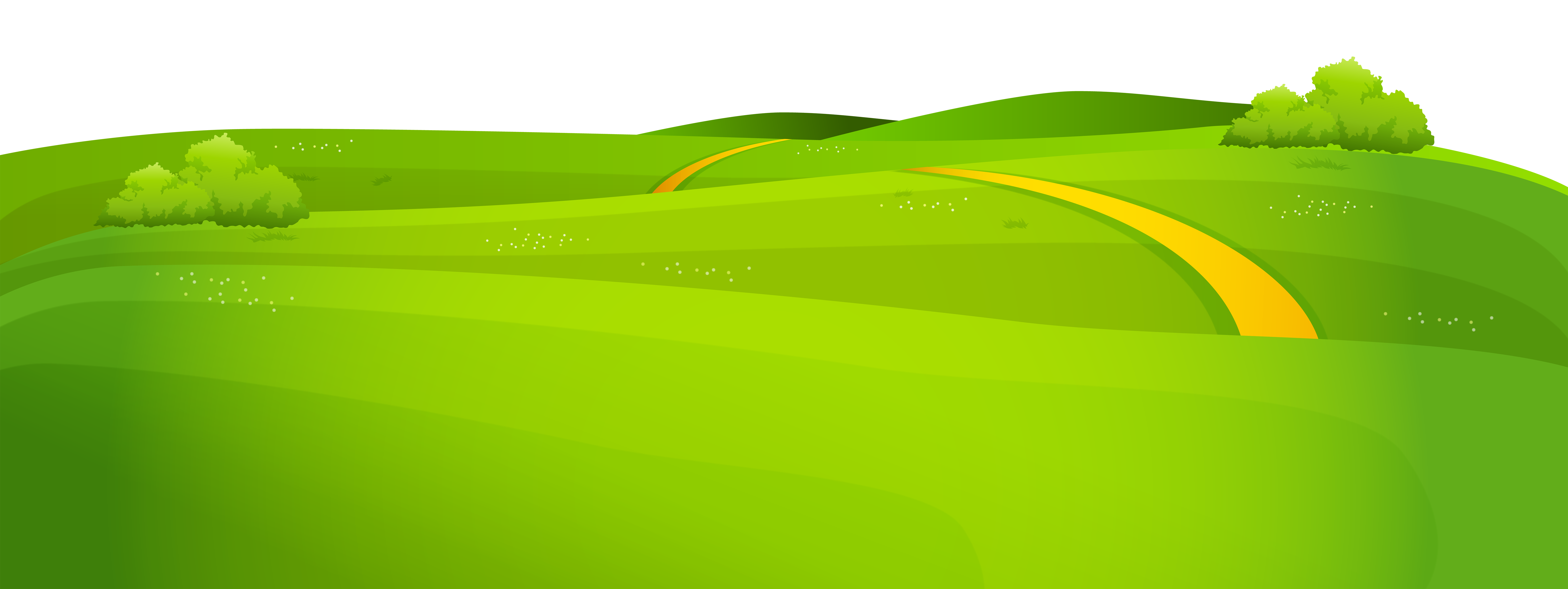 Spring cover png clip. Hills clipart grass area