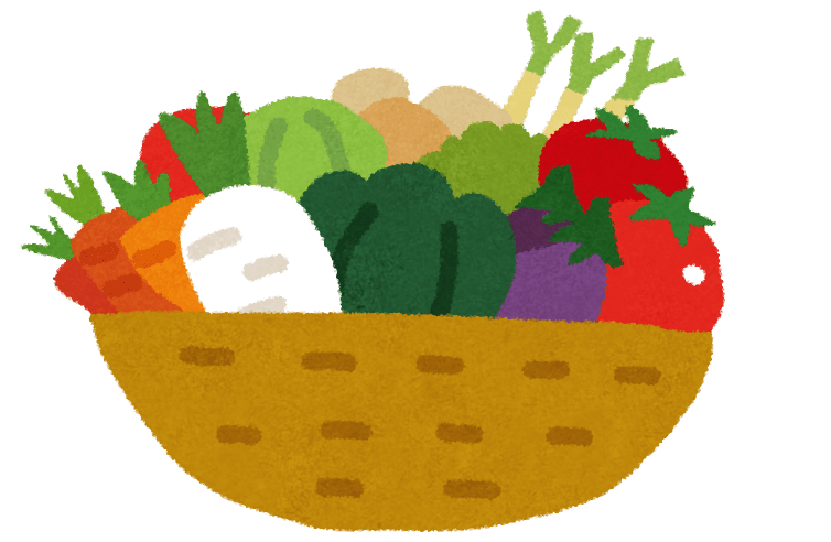 Vegetables clipart vege. Japanese vocabulary