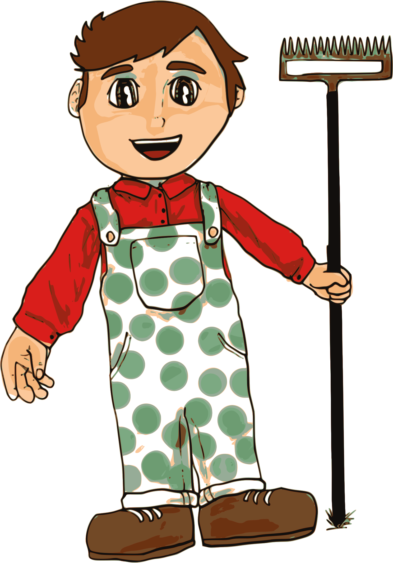 People clipart farmer. Boy big image png