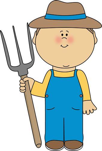 farmer clipart animated