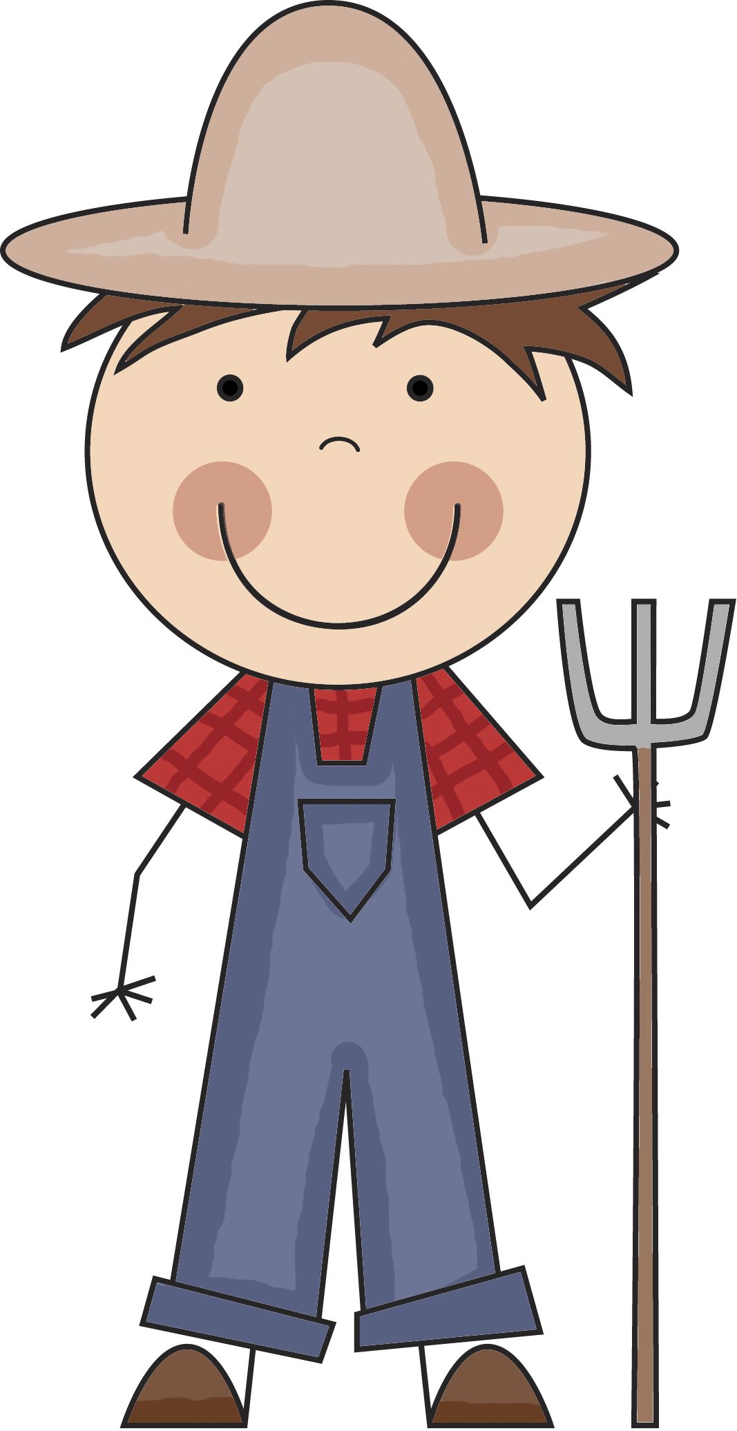 Kids clipart farmer. Png image purepng free