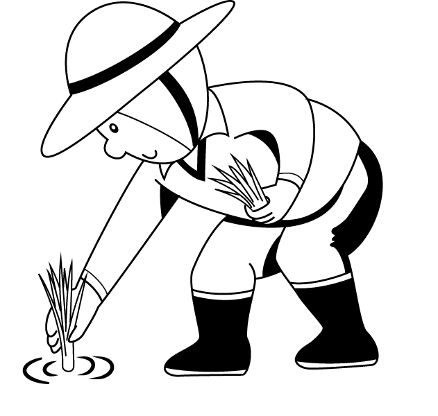 Farmers clipart rice plantation.  collection of farm