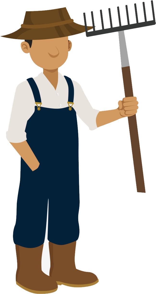 Farmer png image purepng. Working clipart laborer