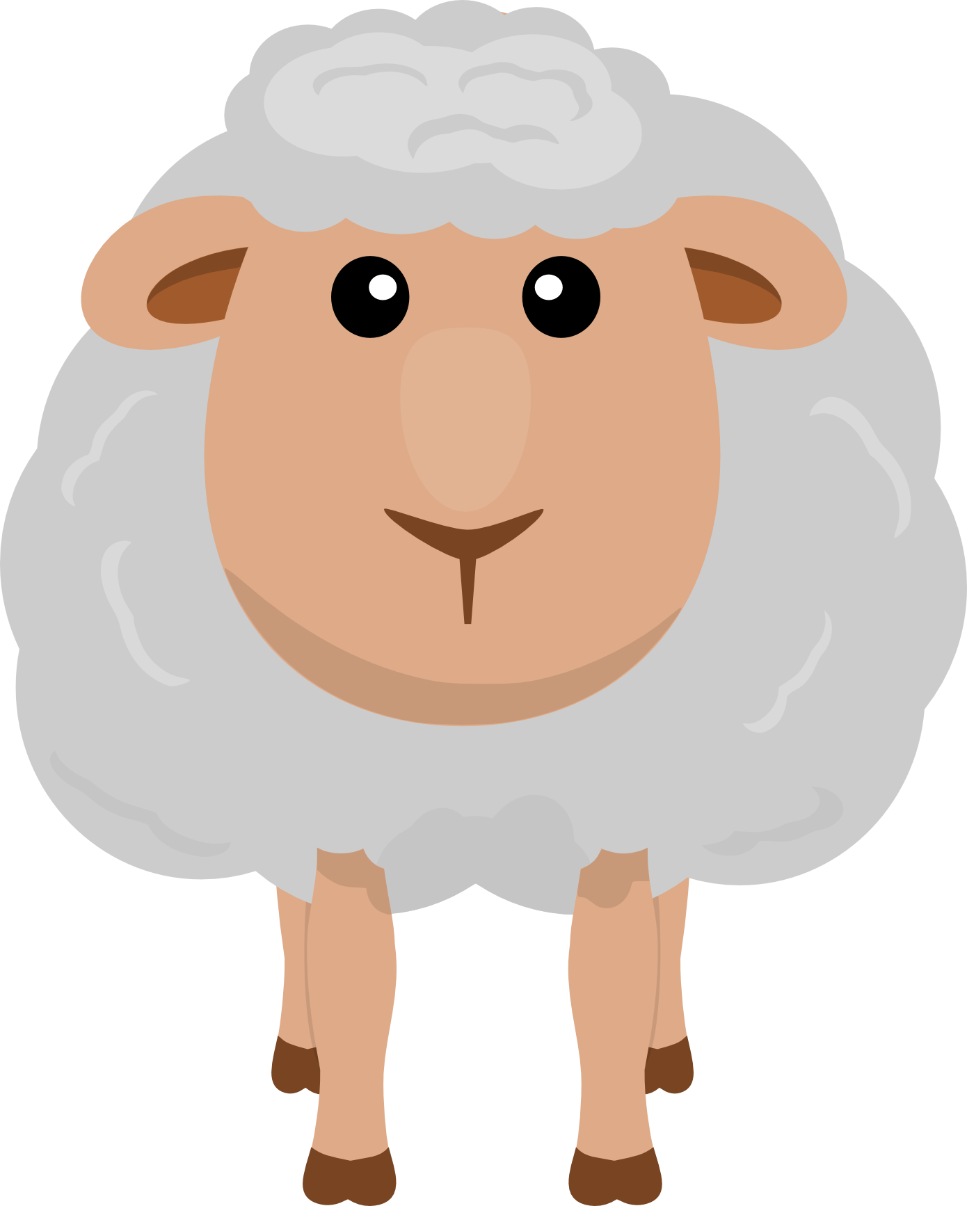 collection of farm. Lamb clipart dolly sheep