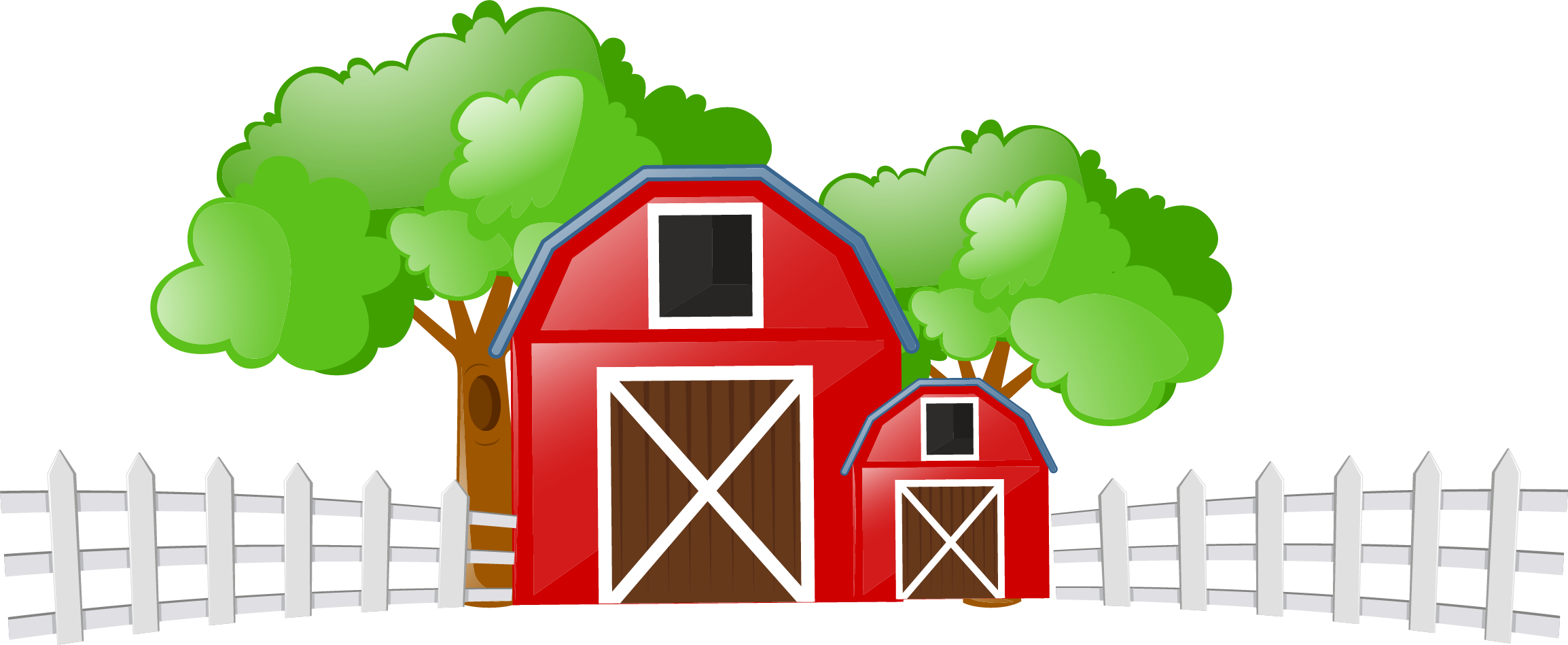 Cattle livestock clip art. Farm clipart farm field