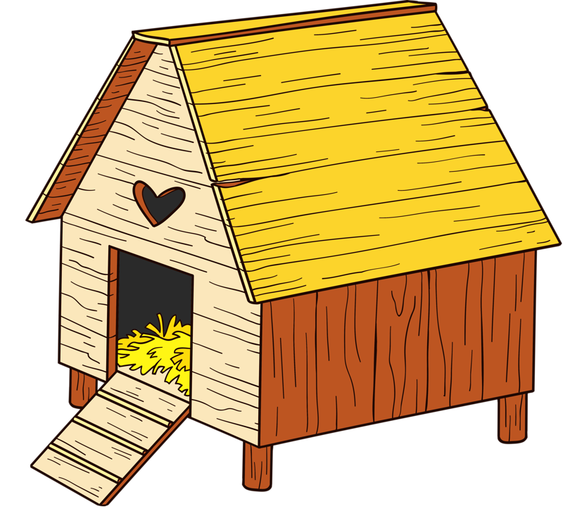 Nest clipart duck nest. Cute farm cartoon clip