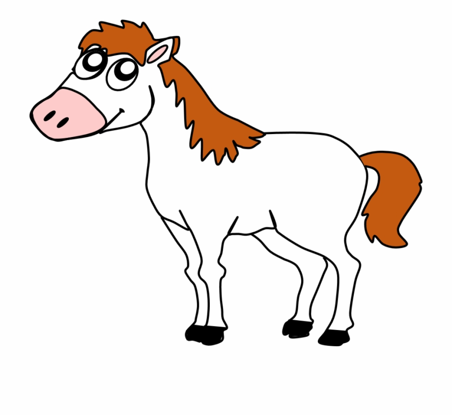 Clipart horse farm animal. Clip freeuse download free