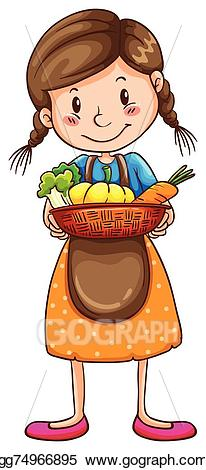 Vector illustration a drawing. Farm clipart simple