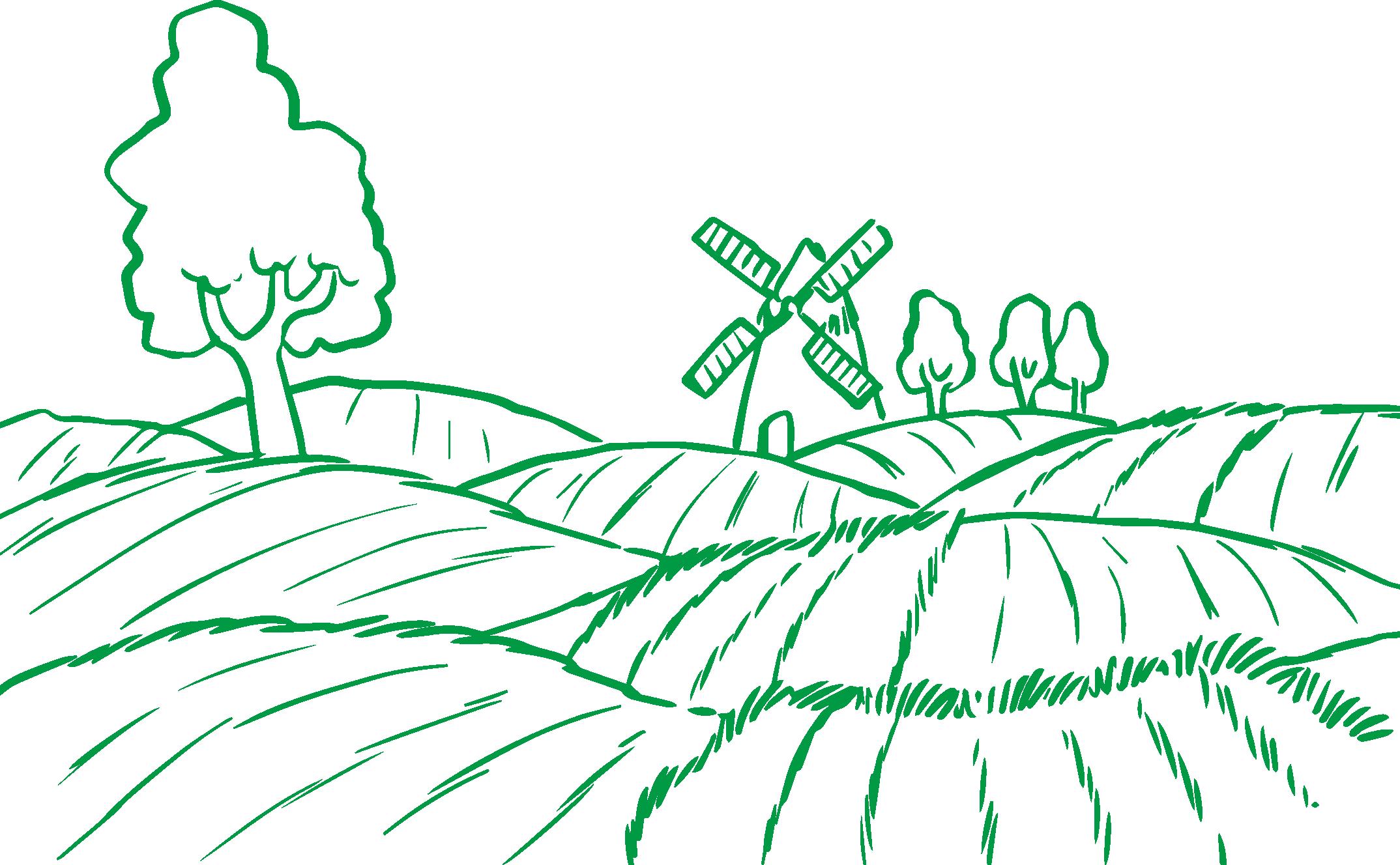 Clipart farm line art. Agriculture clip field farming