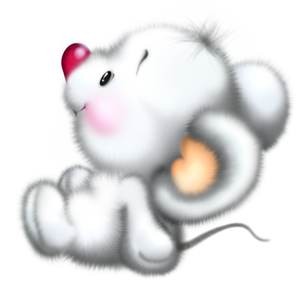 Clipart lion mouse. Cute white cartoon free