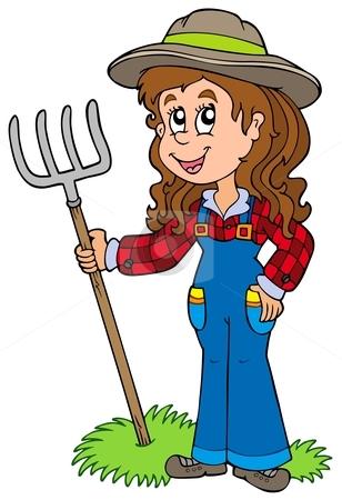 Farmers clipart woman farmer. Free download best on