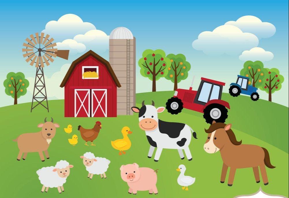 May storytime every friday. Clipart farm preschool