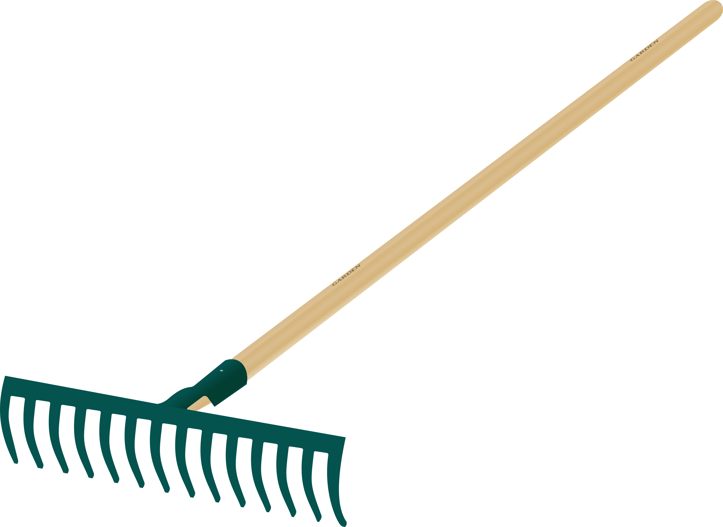 Tool clipart garden.  collection of rake