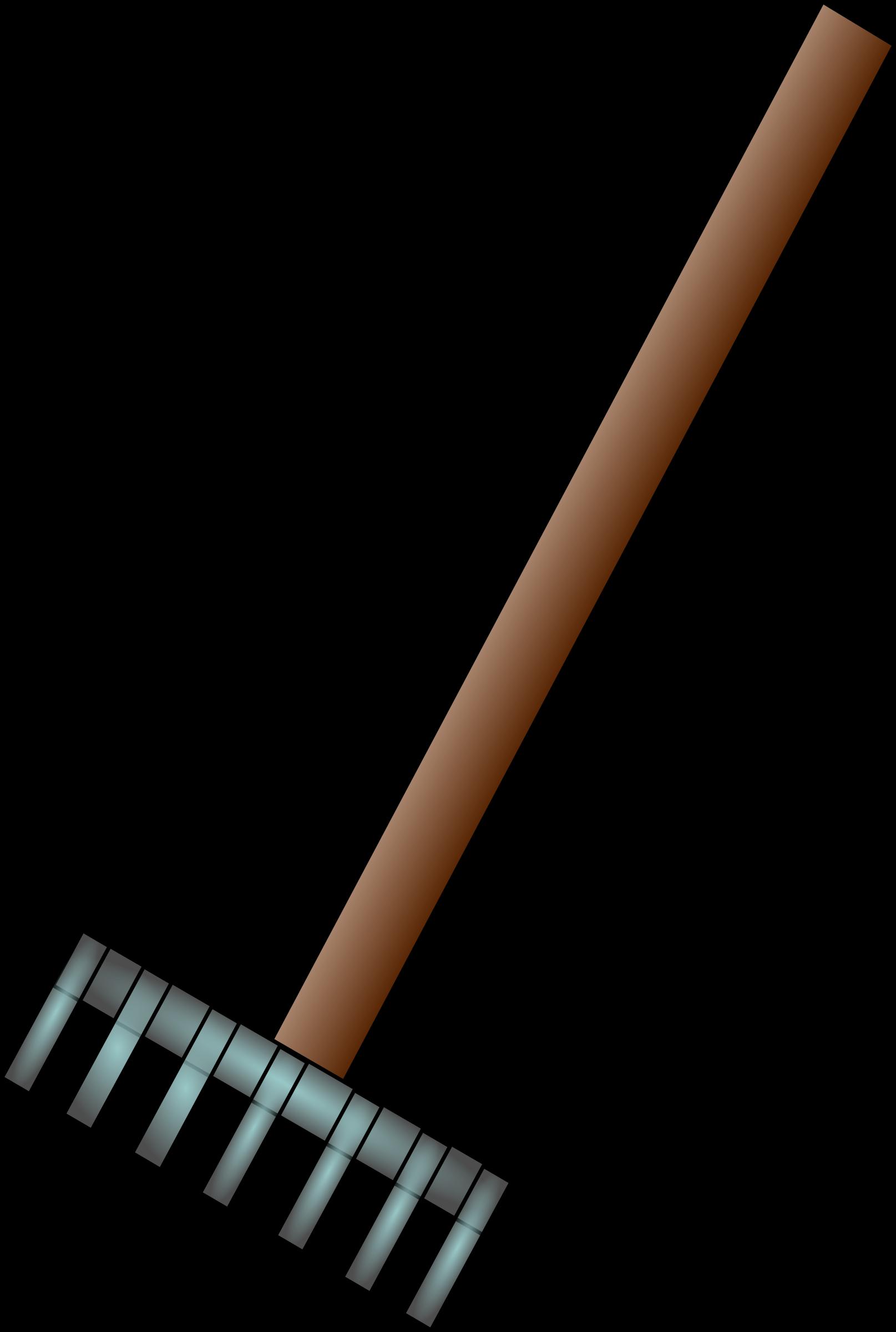 Gardener clipart garden rake. Big image png