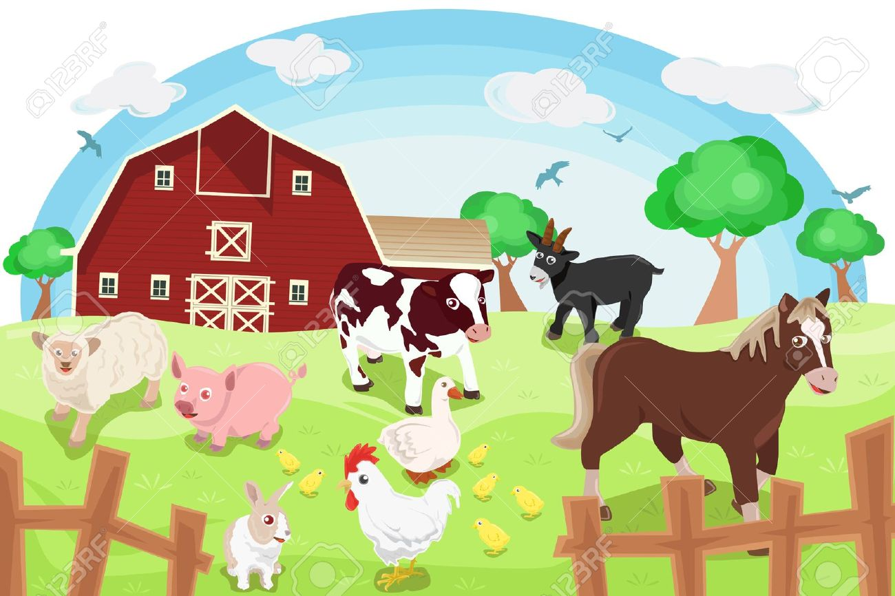 Free animal cliparts download. Farm clipart ranch