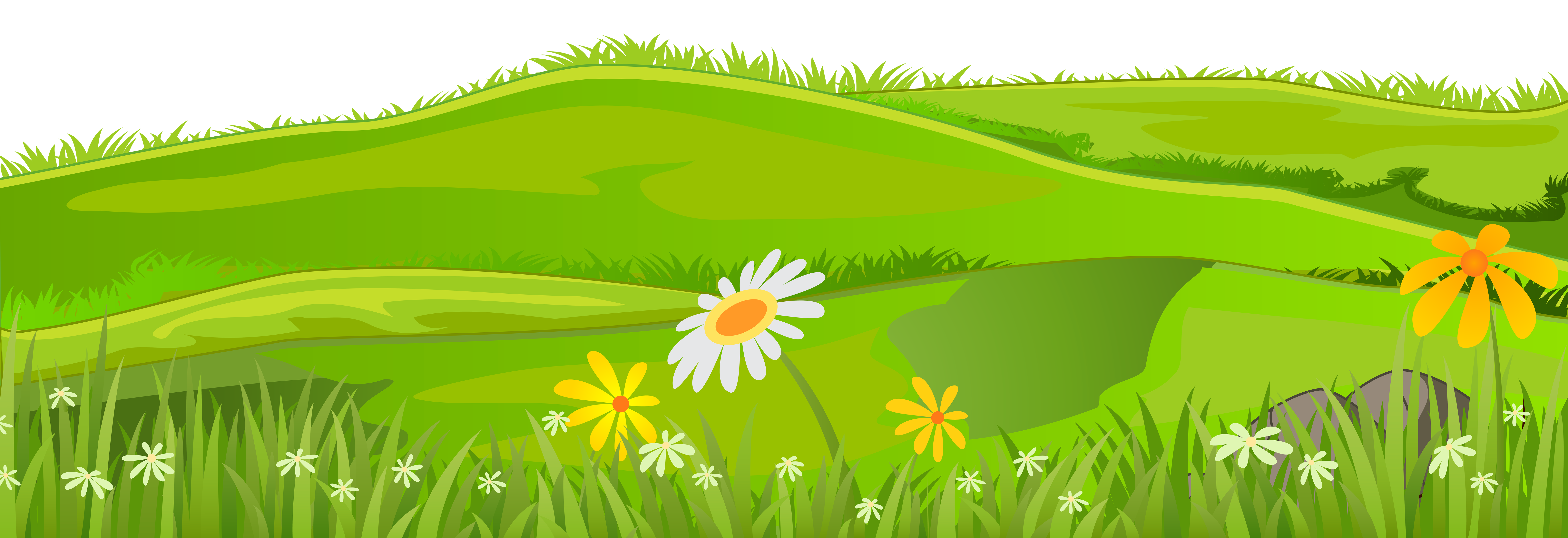 Pathway clipart mountain. Grass cover png clip
