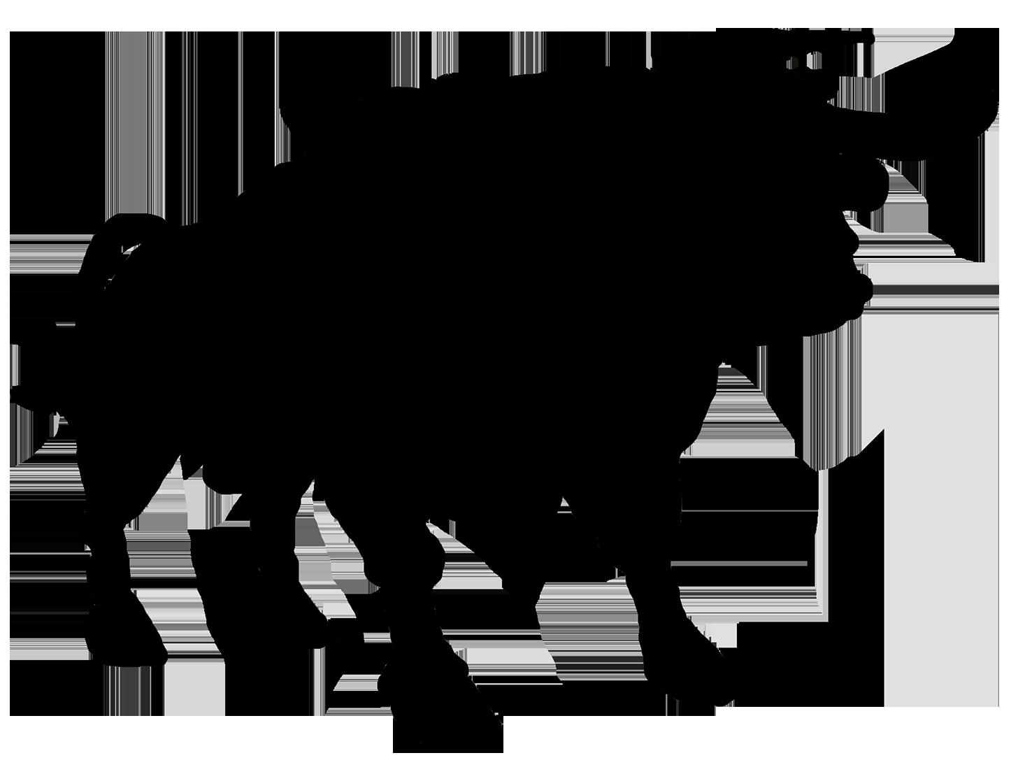 Bull png sert pinterest. Farm clipart silhouette