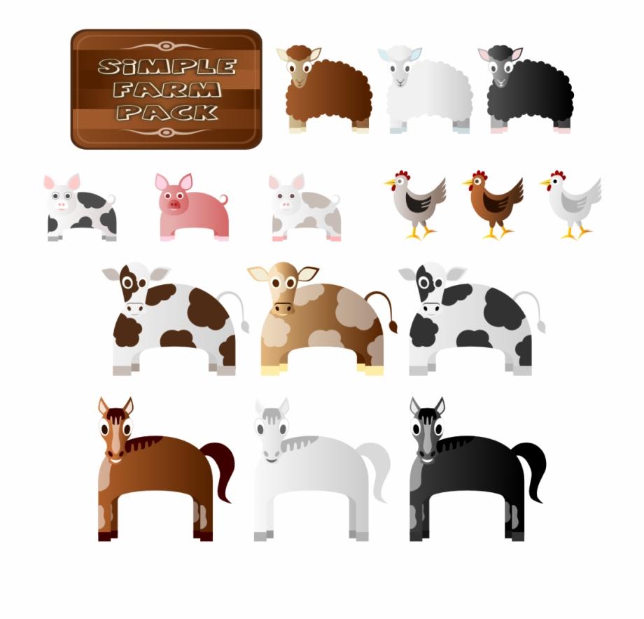 Animals px animal . Farm clipart simple
