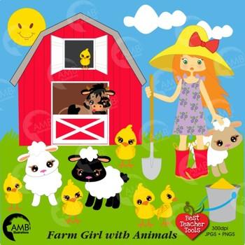 Farmers clipart farm tour. Farmer girl clip art
