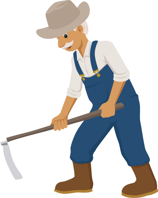 Png images free download. Gardener clipart farmer