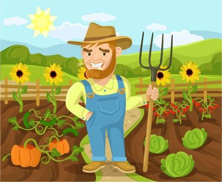 Farmers clipart vegetable farm. Station