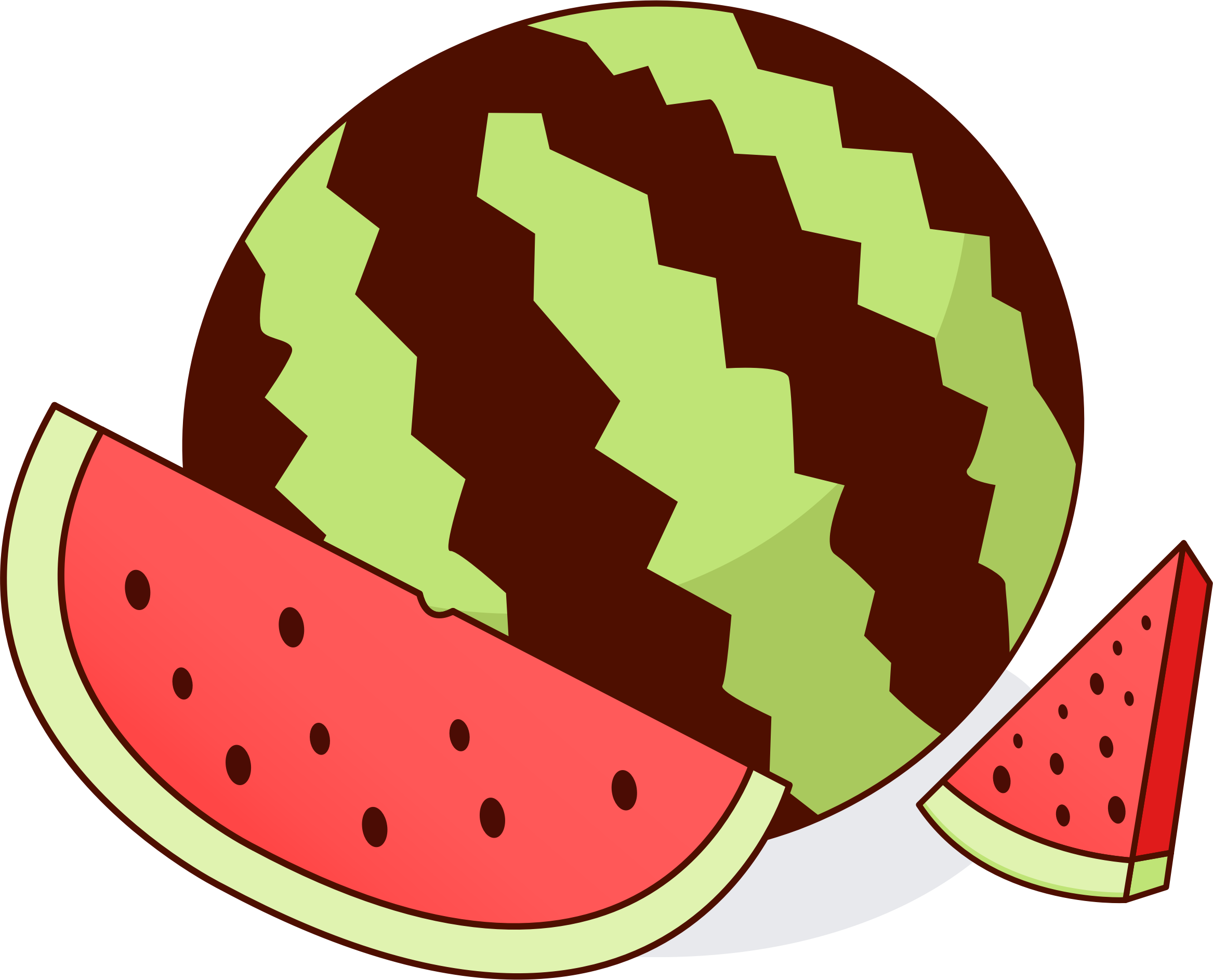 Watermelon clipart animated.  collection of plant