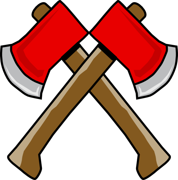 Hatchet drawing at getdrawings. Hi clipart double