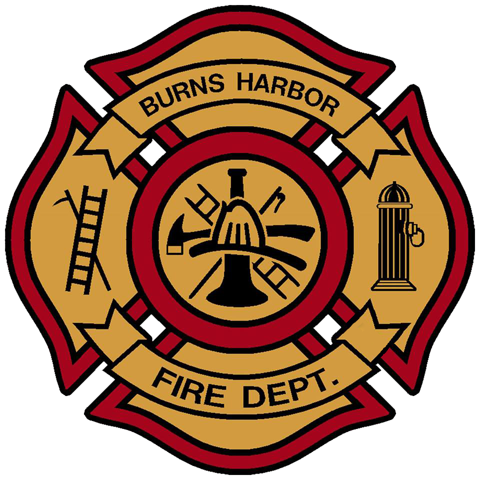 Firefighter clipart fire drill. Burns harbor department in