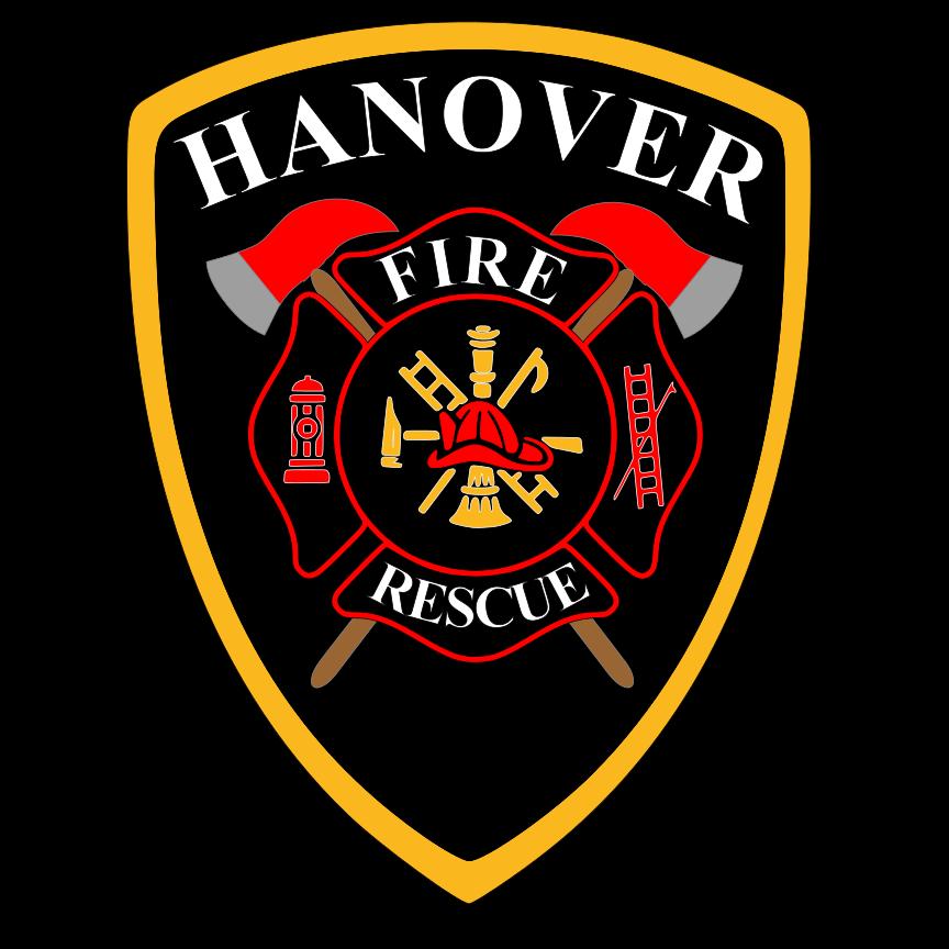 Fireman clipart shield. Home hanover fire department