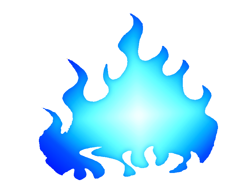 Png free icons and. Fire clipart blue