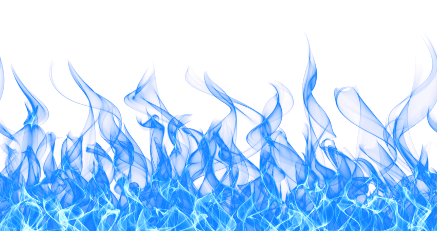 Flame png free images. Fire clipart blue