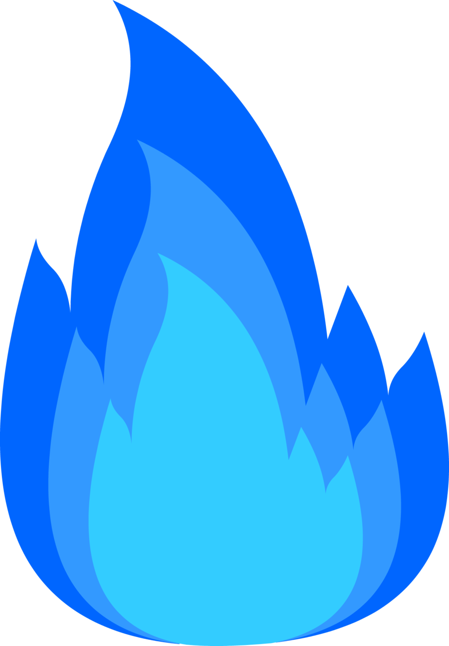 Fire clipart blue. Transparent png pictures free
