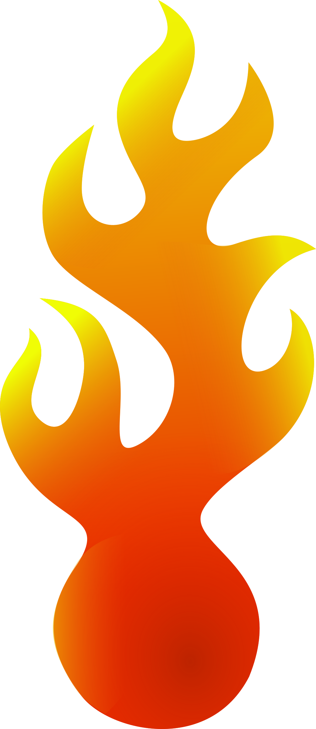 flames clipart border