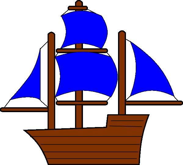 Wheel clipart pirate boat. Blue ship clip art