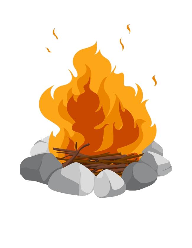 Bonfire png image purepng. Fire clipart bon fire