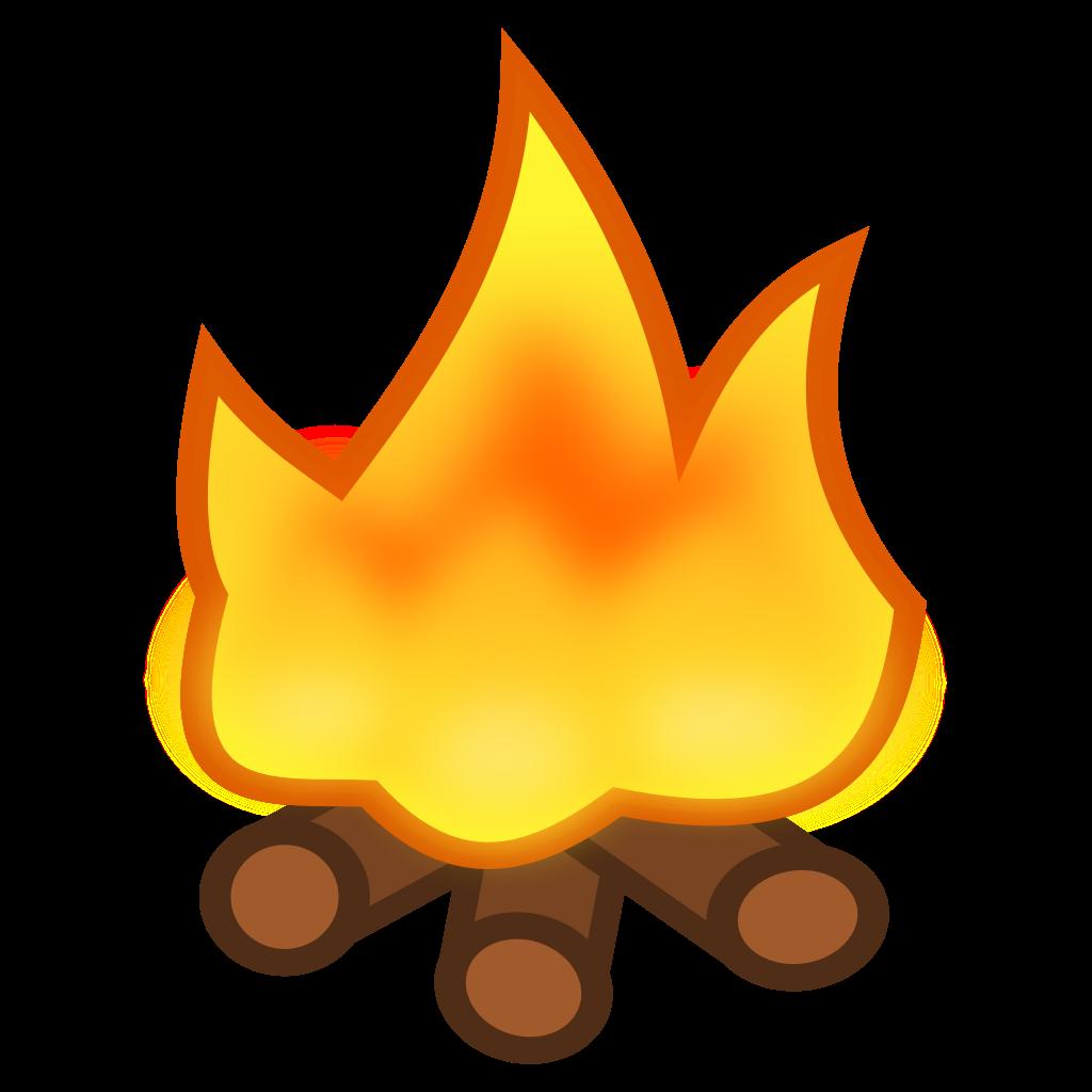 File icon svg wikimedia. Clipart fire campfire